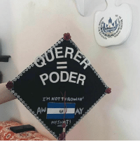 """College, Memes, and Patient: rri  ia  POER  I'M NOT T1R0win'  AYSHip  OCTA CEA-  Went RICh  cannis 13 10  as u ia  R  D 🇸🇻🦋🎓🇸🇻 ImmiGrad """"Querer = Poder. Essentially the phrase that has represented these last four years. It's been rough and I could've quit, but I worked my way through it. Something I've dreamed of since I was eight-years-old—is happening in two weeks 😭. Going to college has shaped me to be the strong, independent, and patient Latinx I am today ✊🏽✊🏽✊🏽. @purchasecollege, it's been real 🎓👩🏽🎓."""" Repost @valerianaaaaax latinxgrads latinxgradcaps ImmiGrads"""