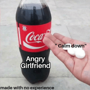 """Bruh moment: Rs  Cca  Calm down""""  Angry  Girlfriend  made with no experience Bruh moment"""