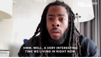 Richard Sherman wants to address how the President is dividing the country. https://t.co/lWQhR0ARpZ: RS  HMM. WELL, A VERY INTERESTING  TIME WE LIVING IN RIGHT NOW Richard Sherman wants to address how the President is dividing the country. https://t.co/lWQhR0ARpZ