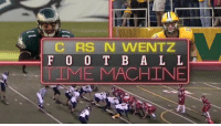 From Century HS... to NDSU ... to the @Eagles.  @cj_wentz has been BALLING his entire football career. 🔥 https://t.co/jk0JzEmcA1: RS N WENTZ  F 0 0 T B A L L  IME MACHINE From Century HS... to NDSU ... to the @Eagles.  @cj_wentz has been BALLING his entire football career. 🔥 https://t.co/jk0JzEmcA1