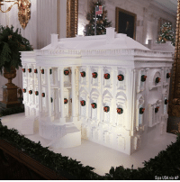 The White House previewed decorations for the first Christmas under the Trump Administration. Photos include a Gingerbread White House, the First Family's official Christmas ornament, Christmas trees in the Grand Foyer and the First Family's 2017 Christmas card.: rS  Sipa USA via AP The White House previewed decorations for the first Christmas under the Trump Administration. Photos include a Gingerbread White House, the First Family's official Christmas ornament, Christmas trees in the Grand Foyer and the First Family's 2017 Christmas card.