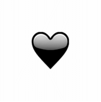 Emoji, Black, and Blacked: RT @AllMatte: A black heart emoji is seriously needed