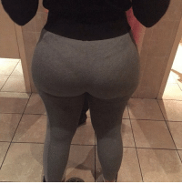 yoga pants big booty