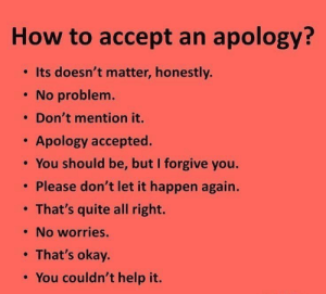 RT @learnthngs: How to accept an apology https://t.co/CCUyRv3ihT: RT @learnthngs: How to accept an apology https://t.co/CCUyRv3ihT