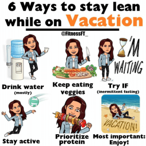 RT @learnthngs: How to stay lean on vacation 👇👇 https://t.co/AROEUiYiIk: RT @learnthngs: How to stay lean on vacation 👇👇 https://t.co/AROEUiYiIk