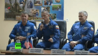 LIVE: Cosmonauts hold presser before leaving to space  WATCH on Youtube: https://youtu.be/k34MLOjSL4g: RT LIVE: Cosmonauts hold presser before leaving to space  WATCH on Youtube: https://youtu.be/k34MLOjSL4g