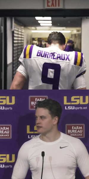 RT @LSUfootball: We'll never forget when @Joe_Burrow10 entered Death Valley with the Burreaux jersey... https://t.co/wk79CFUuQ5: RT @LSUfootball: We'll never forget when @Joe_Burrow10 entered Death Valley with the Burreaux jersey... https://t.co/wk79CFUuQ5