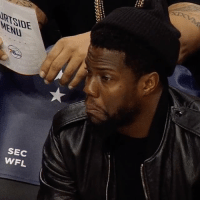 Kevin Hart, Sports, and Sec: RT  ME!  SEC  wFL  孫  35553  CL  SU  SN Kevin Hart is impressed by Richaun Holmes 👏