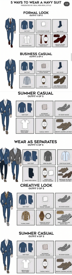 RT @mensessentiaI: 5 ways to wear a navy suit. 👔 https://t.co/taP1EGugCT: RT @mensessentiaI: 5 ways to wear a navy suit. 👔 https://t.co/taP1EGugCT