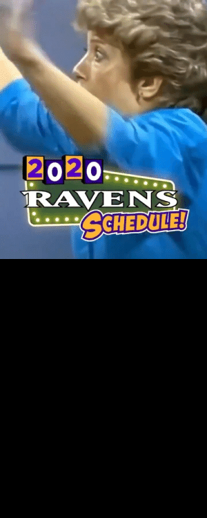 RT @Ravens: Come on down for the Ravens 2020 schedule❗️❗️  https://t.co/zD8qI1U2U6 📺: NFL Network 8 pm https://t.co/CxigGQCPDm: RT @Ravens: Come on down for the Ravens 2020 schedule❗️❗️  https://t.co/zD8qI1U2U6 📺: NFL Network 8 pm https://t.co/CxigGQCPDm