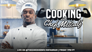 RT @Seahawks: Get cookin' with Chef @dkm14 tonight! 👨🍳👨🍳👨🍳  Live on @thecheckdown Instagram at 7PM PST! https://t.co/EErrWXPIA8: RT @Seahawks: Get cookin' with Chef @dkm14 tonight! 👨🍳👨🍳👨🍳  Live on @thecheckdown Instagram at 7PM PST! https://t.co/EErrWXPIA8