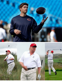 """RT @SpinningRonnie: Jay Cutler is 6'3"""" and 233. Donald Trump is 6'3"""" and 239. What a difference six pounds makes! https://t.co/ECiWtPVtwn: RT @SpinningRonnie: Jay Cutler is 6'3"""" and 233. Donald Trump is 6'3"""" and 239. What a difference six pounds makes! https://t.co/ECiWtPVtwn"""