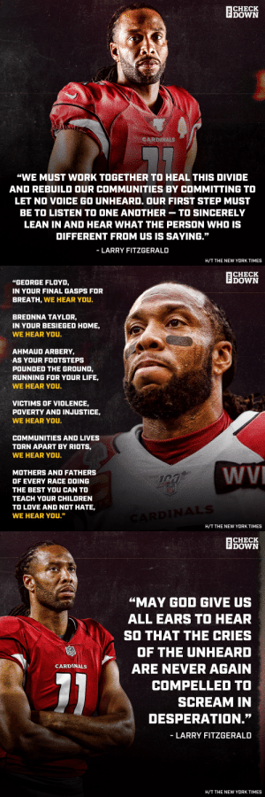 RT @thecheckdown: Powerful words from Fitz. @LarryFitzgerald https://t.co/N5kNvZhBFd: RT @thecheckdown: Powerful words from Fitz. @LarryFitzgerald https://t.co/N5kNvZhBFd