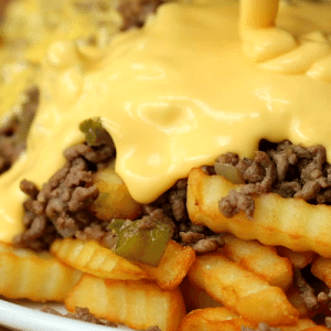 Funny, Joe, and Sloppy Joe: RT @TheChefFacts: Sloppy Joe Cheesesteak Fries ©Twisted https://t.co/RqLgztTwub
