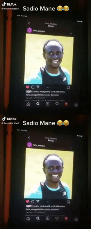 RT @Troll__Footbal: They did my man Sadio Mane dirty with this 😂  https://t.co/eaSI3dRHOy: RT @Troll__Footbal: They did my man Sadio Mane dirty with this 😂  https://t.co/eaSI3dRHOy