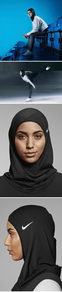 """Memes, 🤖, and Hijab: RT @WeNeedFeminlsm: Nike introduced a performance hijab for Muslim women athletes. It's called the """"Nike Pro Hijab"""""""