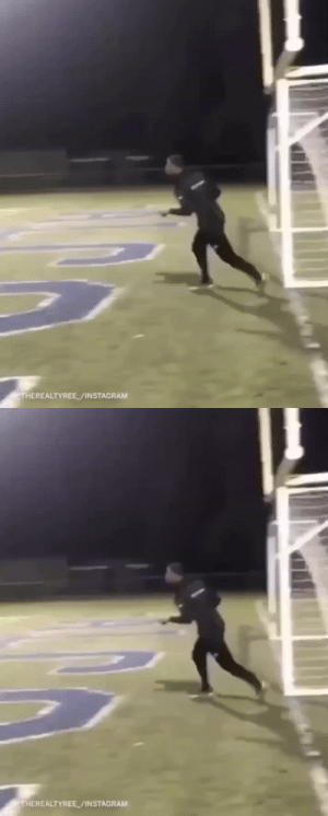RT @WhistleSports: He really hit the goalpost from 110 YARDS (!!!) OUT 🤯   (IG/_therealtyree) https://t.co/8sxee2sTda: RT @WhistleSports: He really hit the goalpost from 110 YARDS (!!!) OUT 🤯   (IG/_therealtyree) https://t.co/8sxee2sTda