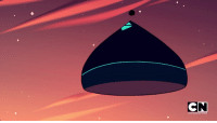 Target, Tumblr, and Blog: RTOON NETWORK pc-the-unicorn:  Okay, I know we are all freaking out with the new gems, and Steven being taking to homeworld and everything.  But does anyone else notice that the gem ship look like a Hershey Kiss?