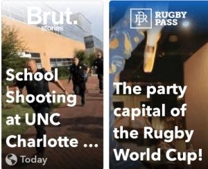 School, Snapchat, and World Cup: ru  | RUGBY  E PASS  stories  School  ShootingThe part  at UNC  Charlotte .World Cup!  capital of  the Rugby  Today why is snapchat