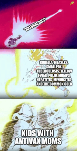 Anime, Moms, and Common: RUBELLA MEASLES  SMALLPOX,  TUBERCULOSIS,YELLOW  FEVER,POLIO, MUMPS  HEPATITIS, MENINGITIS  AND THE COMMON COLD  01  KIDS WITH  ANTIVAX MOMS A Blast To The Past