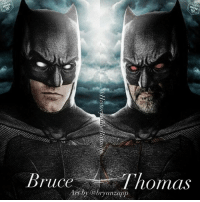 """Batman, Love, and Memes: ruce  normas  anzapp Good Knight Gothamites! This week we will have more of our session """"What's In That Utility Belt: A History of Batman Gadgets"""" and more media celebrating the Caped Crusader's 78 year history! I leave you tonight with an account edit using original art by illustrator @bryanzapp! Would you want to see Thomas Wayne's Batman (played by Jeffrey Dean Morgan) in the DC Extended Universe? What are your thoughts on Ben Affleck's Batman? As always, thanks for following and all of the constant support, have a great night and we will have more History of the Batman tomorrow. Remember Gothamites, it's all about Peace, Love and Batman! ✌🏼💙🦇🎬🎨"""