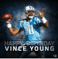 Birthday, Memes, and Nfl: Rudel  HAPPY DAY  VINCE YOUNG  NFL Join us in wishing Vince Young a Happy 34th Birthday! 🎉 https://t.co/sjv0H4hi3V