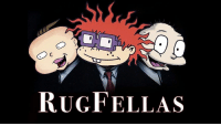 The new reboot of Rugrats sure looks gritty as Tommy Pickles and his playmates take up the wiseguy life.: RUGFELLAS The new reboot of Rugrats sure looks gritty as Tommy Pickles and his playmates take up the wiseguy life.