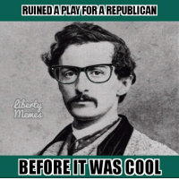 Hipster Booth: RUINED APLAY FOR AREPUBLICAN  BEFORE IT WAS COOL Hipster Booth