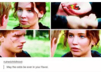 May The Odds: ruinedchildhood:  l May the odds be ever in your flavor.
