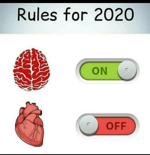 No blood circulation for 2020 guys .: Rules for 2020  ON  OFF No blood circulation for 2020 guys .