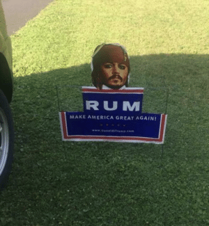 I'm willing to take a shot.: RUM  MAKE AMERICA GREAT AGAIN!  www.o ldITrp.com I'm willing to take a shot.