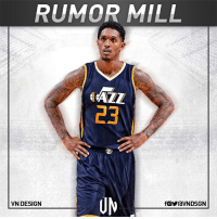 The Utah Jazz have reached out to the LA Lakers with an interest in acquiring shooting guard Lou Williams, according to The Salt Lake Tribune.  #VNdesign: RUMOR MILL  AZZ  B3  VN DESIGN  fOYraVNDSGN The Utah Jazz have reached out to the LA Lakers with an interest in acquiring shooting guard Lou Williams, according to The Salt Lake Tribune.  #VNdesign