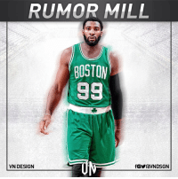 """Detroit, Detroit Pistons, and Memes: RUMOR MILL  BOSTON  98  VN DESIGN  fOYraVNDSGN Andre Drummond retweeted @IsaiahThomas's tweet """" 👀 """" and tweeted the same thing. Removed Detroit Pistons from his bio, unfollowed them and changed his profile pic to him waving goodbye. Signs. Signs everywhere. VNdesign"""