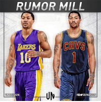 Cavs, Cleveland Cavaliers, and Los Angeles Lakers: RUMOR MILL  CAVS  10  NIDESIGN drose in talks with the Cleveland Cavaliers about a 1-year deal. He will also meet with the LA Lakers today. VNdesign
