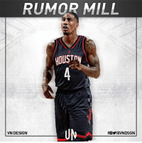 Cleveland Cavaliers are in talks with Houston Rockets on a deal to move Iman Shumpert to HOU, per Adrian Wojnarowski. VNdesign: RUMOR MILL  HOUST  UM  VN DESIGN Cleveland Cavaliers are in talks with Houston Rockets on a deal to move Iman Shumpert to HOU, per Adrian Wojnarowski. VNdesign