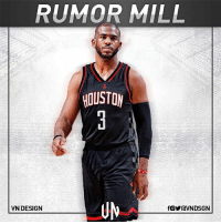 "ESPN's Chris Haynes said the Houston Rockets have a ""serious chance of luring Chris Paul away"" from the L.A. Clippers, and noted the Rockets plan to ""aggressively"" pursue the veteran. In fact, Haynes said the Rockets are so interested in pursuing Paul that they are ""trying to clear enough cap space"" so he can join James Harden in Houston. VNdesign: RUMOR MILL  HOUSTON  UN  VN DESIGN ESPN's Chris Haynes said the Houston Rockets have a ""serious chance of luring Chris Paul away"" from the L.A. Clippers, and noted the Rockets plan to ""aggressively"" pursue the veteran. In fact, Haynes said the Rockets are so interested in pursuing Paul that they are ""trying to clear enough cap space"" so he can join James Harden in Houston. VNdesign"