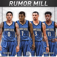 The Minnesota Timberwolves are targeting Kyle Lowry, Jrue Holiday, George Hill, and Jeff Teague in free agency, according to Mitch Lawrence of Sporting News. VNdesign: RUMOR MILL  MINNESOTA  NNESOTANNESOTA NNESOTA  VN DESIGN The Minnesota Timberwolves are targeting Kyle Lowry, Jrue Holiday, George Hill, and Jeff Teague in free agency, according to Mitch Lawrence of Sporting News. VNdesign