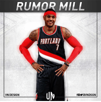 Portland Trail Blazers are interested in dealing for Carmelo Anthony, if he waives no-trade clause, per Adrian Wojnarowski. VNdesign: RUMOR MILL  PORTLAND  VN DESIGN Portland Trail Blazers are interested in dealing for Carmelo Anthony, if he waives no-trade clause, per Adrian Wojnarowski. VNdesign