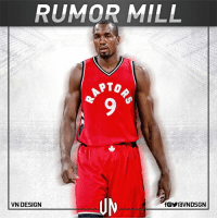 The Toronto Raptors continue to show interest in Serge Ibaka, according to ESPN's Marc J. Spears.  #VNdesign: RUMOR MILL  PTO  UN  VN DESIGN  fOYraVNDSGN The Toronto Raptors continue to show interest in Serge Ibaka, according to ESPN's Marc J. Spears.  #VNdesign