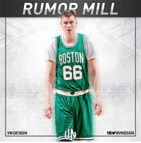 The Boston Celtics are interested in acquiring Kristaps Porzingis, according to the New York Daily News' Stefan Bondy. Adrian Wojnarowski reported Phil Jackson is considering trading Porzingis, with Lauri Markkanen identified as a potential replacement. VNdesign: RUMOR MILL  ROSTON  66  VN DESIGN The Boston Celtics are interested in acquiring Kristaps Porzingis, according to the New York Daily News' Stefan Bondy. Adrian Wojnarowski reported Phil Jackson is considering trading Porzingis, with Lauri Markkanen identified as a potential replacement. VNdesign