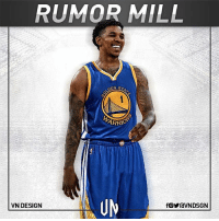 Nick Young is a serious candidate for a portion of Golden State Warriors' $5.2M exception, per Adrian Wojnarowski. VNdesign: RUMOR MILL  VN DESIGN Nick Young is a serious candidate for a portion of Golden State Warriors' $5.2M exception, per Adrian Wojnarowski. VNdesign