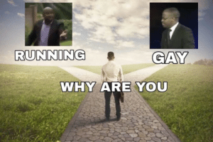 Running, Why, and You: RUNNING  9GAY  WHY ARE YOU why do i hear this