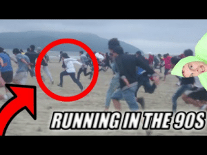 Meme, youtube.com, and Running: RUNNING IN THE 9OS Running in The 90s Meme Compilation (100 Subscriber Special) - YouTube