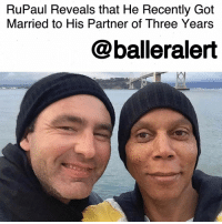 """RuPaul Reveals that He Recently Got Married to His Partner of Three Years-blogged by @thereal__bee ⠀⠀⠀⠀⠀⠀⠀⠀⠀ ⠀⠀⠀⠀⠀⠀⠀⠀⠀ RuPaul revealed on Wednesday's episode of HollywoodTodayLive that he's been secretly married since January to his partner of 23 years, GeorgesLeBar. ⠀⠀⠀⠀⠀⠀⠀⠀⠀ ⠀⠀⠀⠀⠀⠀⠀⠀⠀ """"I've never said this on television before,"""" the 'RuPaul's DragRace' host said, """"but we are married. We got married on our 23rd [anniversary]. I met him on the dance floor at Limelight [club in New York City] in 1994, on his birthday. So we got married on his birthday, the anniversary of when we met, this year — in January."""" ⠀⠀⠀⠀⠀⠀⠀⠀⠀ ⠀⠀⠀⠀⠀⠀⠀⠀⠀ While the two have spent more than two decades together, it looks like neither of them will be making a major move from their extremely different lifestyles. ⠀⠀⠀⠀⠀⠀⠀⠀⠀ ⠀⠀⠀⠀⠀⠀⠀⠀⠀ LeBar spends his time in the country, running a 60,000-acre ranch that spreads across Wyoming and South Dakota. ⠀⠀⠀⠀⠀⠀⠀⠀⠀ ⠀⠀⠀⠀⠀⠀⠀⠀⠀ RuPaul said, """"Most of the time, he's on the ranch … but he doesn't want me to come there,"""" explaining that when they do spend time together, they prefer to go to """"glamorous"""" places like Paris and Maui. ⠀⠀⠀⠀⠀⠀⠀⠀⠀ ⠀⠀⠀⠀⠀⠀⠀⠀⠀ Congrats to the couple on tying the knot!: RuPaul Reveals that He Recently Got  Married to His Partner of Three Years  @balleralert RuPaul Reveals that He Recently Got Married to His Partner of Three Years-blogged by @thereal__bee ⠀⠀⠀⠀⠀⠀⠀⠀⠀ ⠀⠀⠀⠀⠀⠀⠀⠀⠀ RuPaul revealed on Wednesday's episode of HollywoodTodayLive that he's been secretly married since January to his partner of 23 years, GeorgesLeBar. ⠀⠀⠀⠀⠀⠀⠀⠀⠀ ⠀⠀⠀⠀⠀⠀⠀⠀⠀ """"I've never said this on television before,"""" the 'RuPaul's DragRace' host said, """"but we are married. We got married on our 23rd [anniversary]. I met him on the dance floor at Limelight [club in New York City] in 1994, on his birthday. So we got married on his birthday, the anniversary of when we met, this year — in January."""" ⠀⠀⠀⠀⠀⠀⠀⠀⠀ ⠀⠀⠀⠀⠀⠀⠀⠀⠀ While the two have spent more than two decades together, it looks """