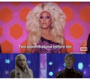 A preview of what D&D have planned for S8E5: RUPAUL'S DRAG RACE  UNTUCKED  ALL NEW  NEXT  Two queens stand before me  VH1  @CoolStoryBr01 A preview of what D&D have planned for S8E5