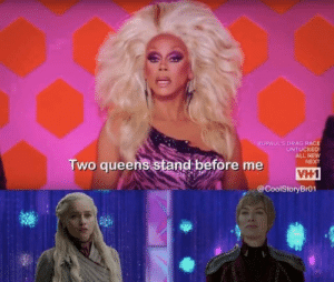 Still a better way to settle things than the D&D attempt: RUPAUL'S DRAG RACE  UNTUCKED  ALL NEW  NEXT  Two queens stand before me  VH1  @CoolStoryBr01 Still a better way to settle things than the D&D attempt