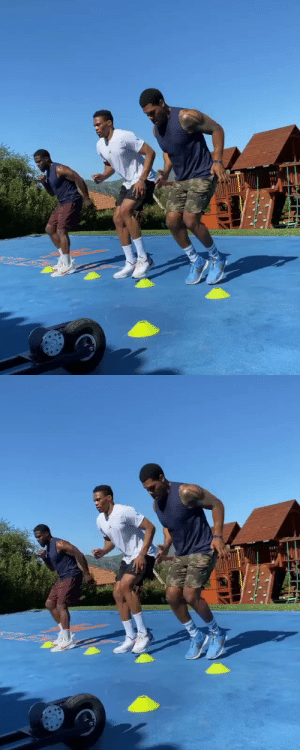 Russ and Kevin Hart training together 😤 https://t.co/dIrDScXull: Russ and Kevin Hart training together 😤 https://t.co/dIrDScXull