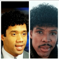 Russell Wilson got his her did!
