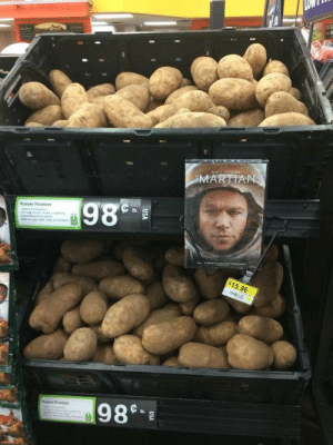 Facebook, Tumblr, and Blog: Russet Potatoes  $15.96 oceanaboveus:The guy who sells these potatoes is a GENIUS - Pic by Lidija Djujic via Jc Van Zijl on Facebook