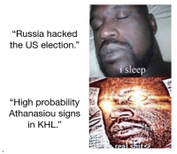"wings_irl: ""Russia hacked  the US election""  93  sleep  ""High probability  Athanasiou signs  in KHL.""  19 wings_irl"